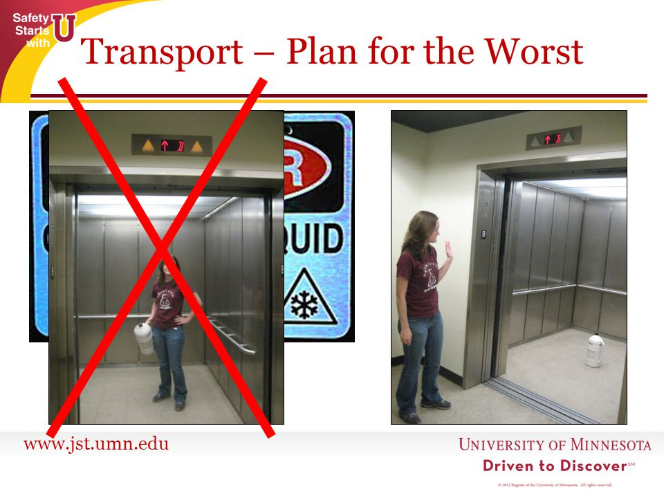 Transport – Plan for the Worst