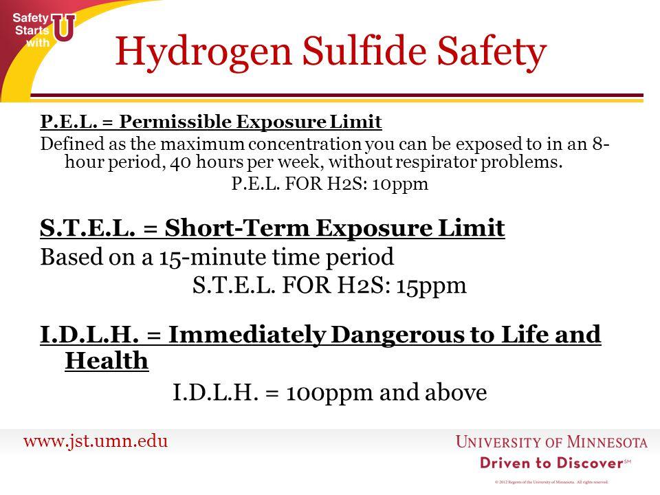 Hydrogen Sulfide Safety