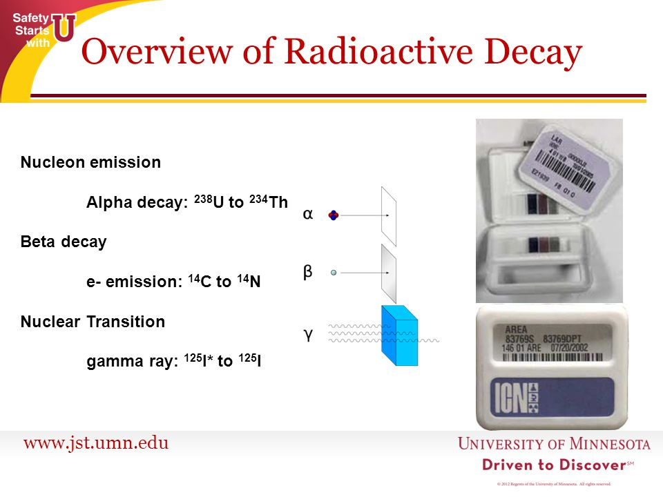 Overview of Radioactive Decay
