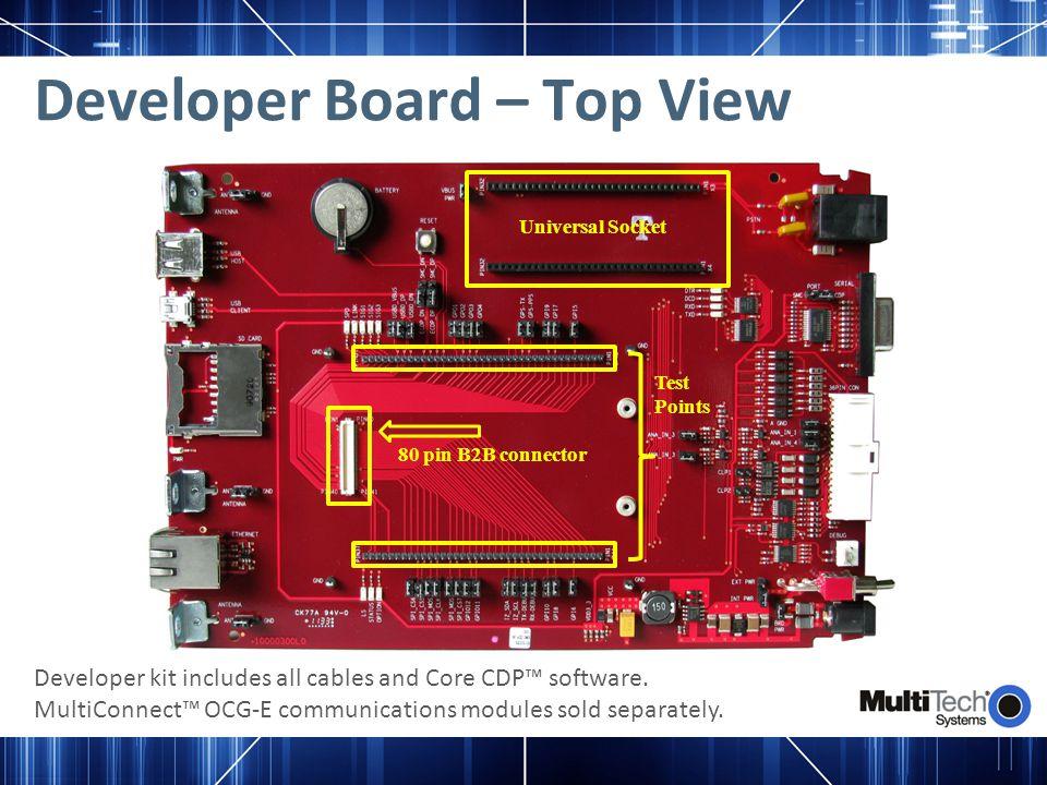 Developer Board – Top View