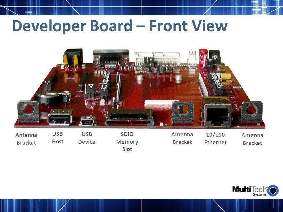 Developer Board – Front View
