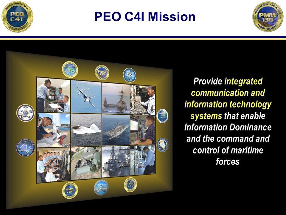 PEO C4I Mission