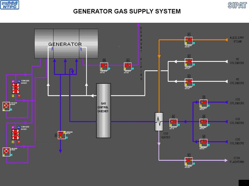 GENERATOR GAS SUPPLY SYSTEM