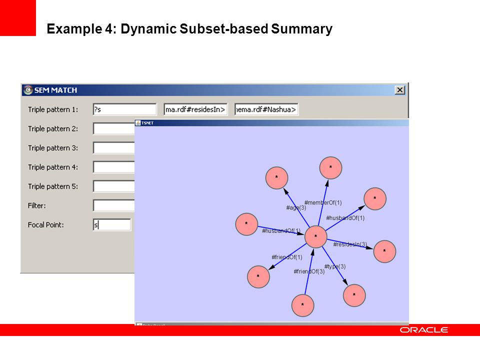 Example 4: Dynamic Subset-based Summary