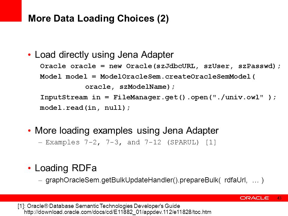 More Data Loading Choices (2)