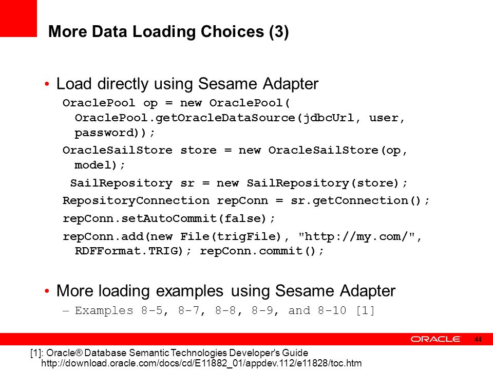More Data Loading Choices (3)