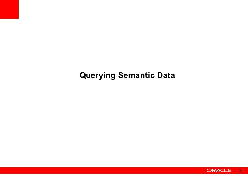Querying Semantic Data