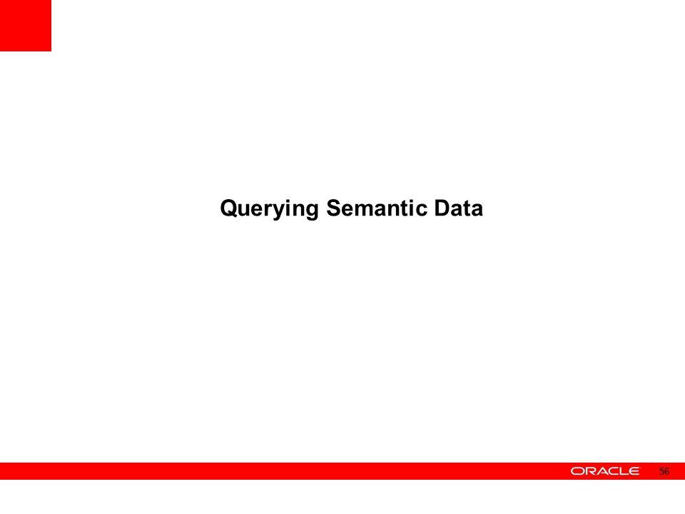 Querying Semantic Data