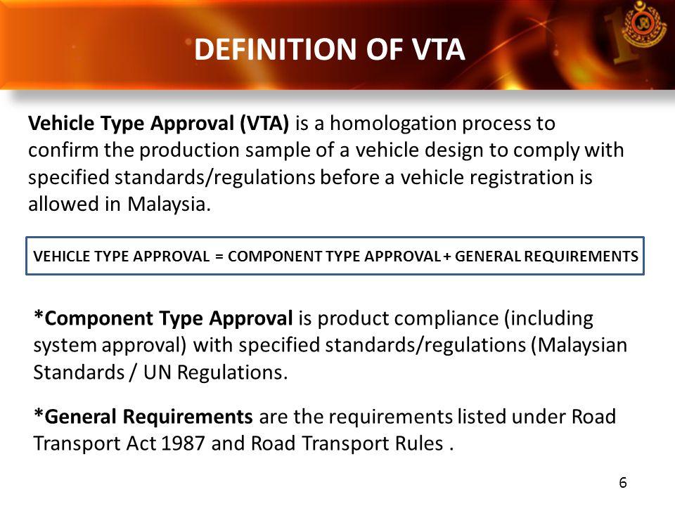 DEFINITION OF VTA