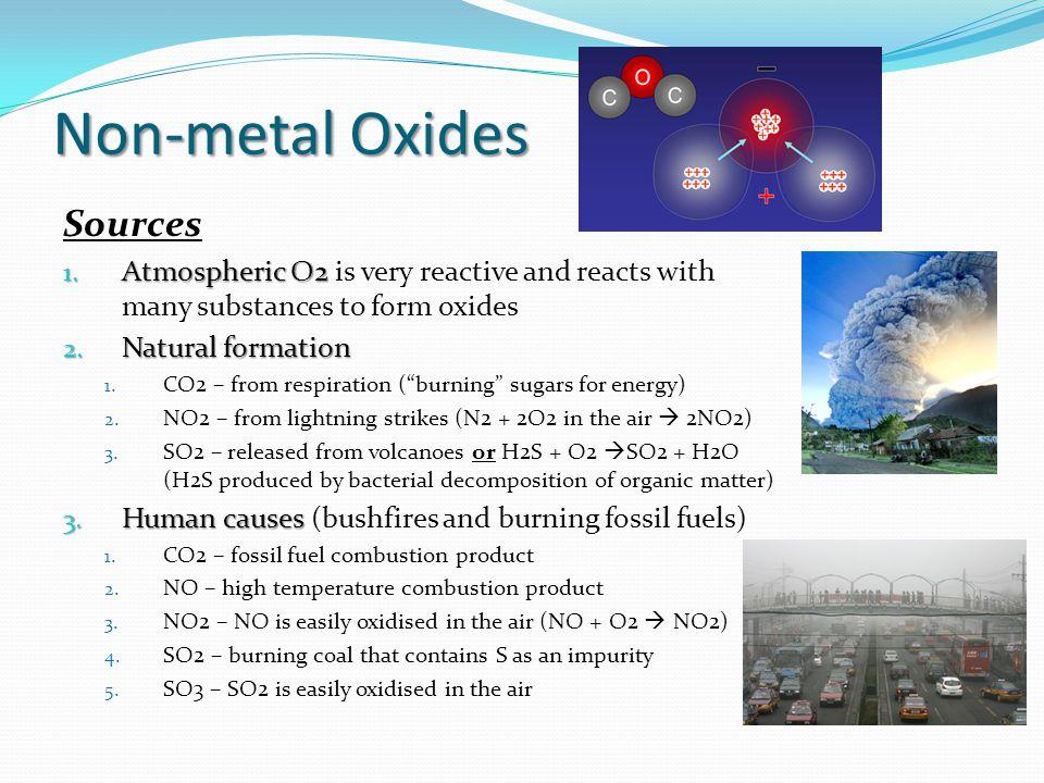 Non-metal Oxides Sources