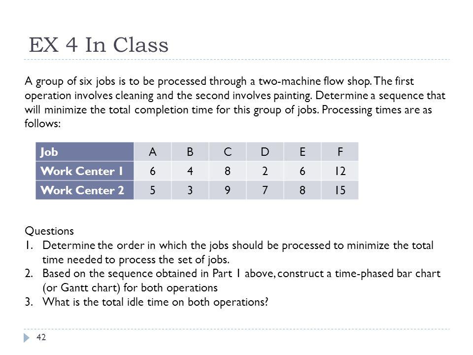EX 4 In Class