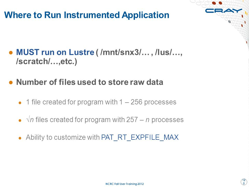 Where to Run Instrumented Application