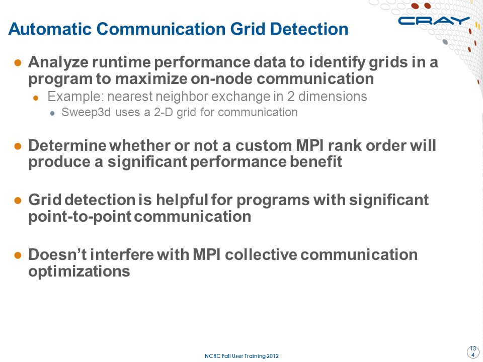 Automatic Communication Grid Detection