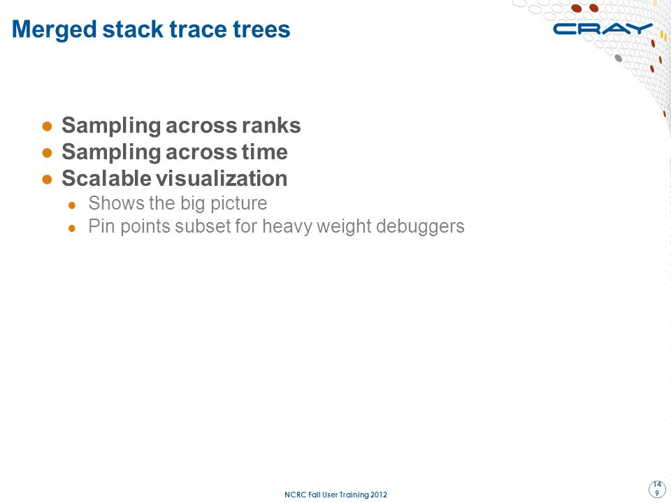 Merged stack trace trees