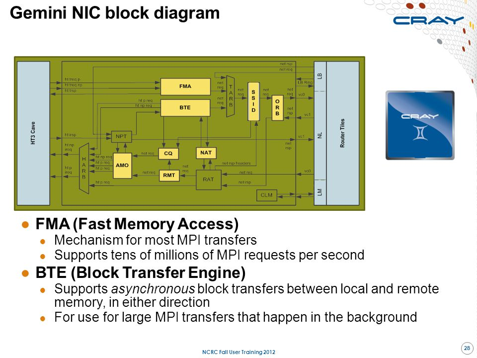 Gemini NIC block diagram