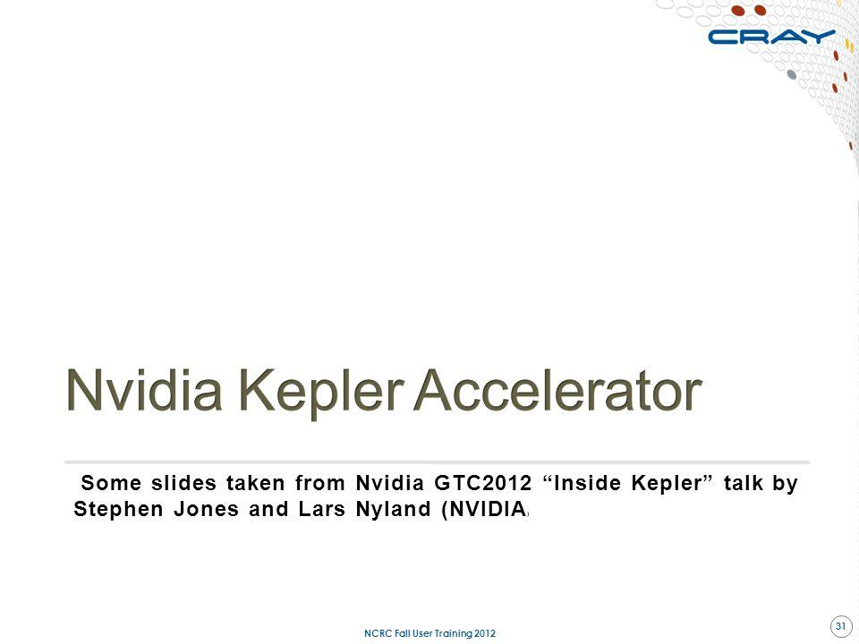 Nvidia Kepler Accelerator