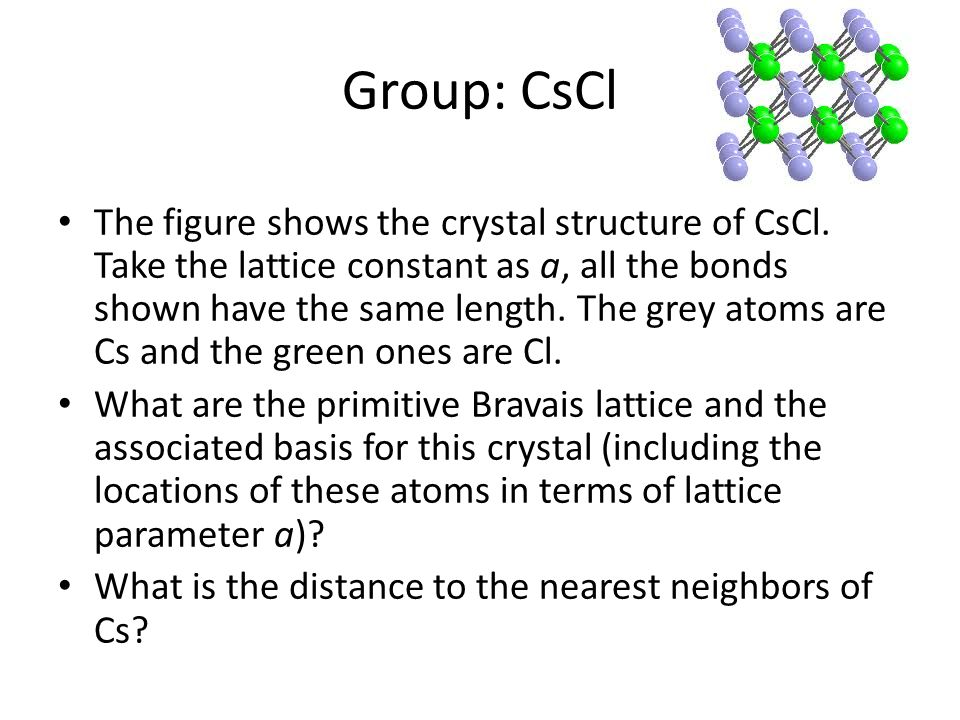 Group: CsCl