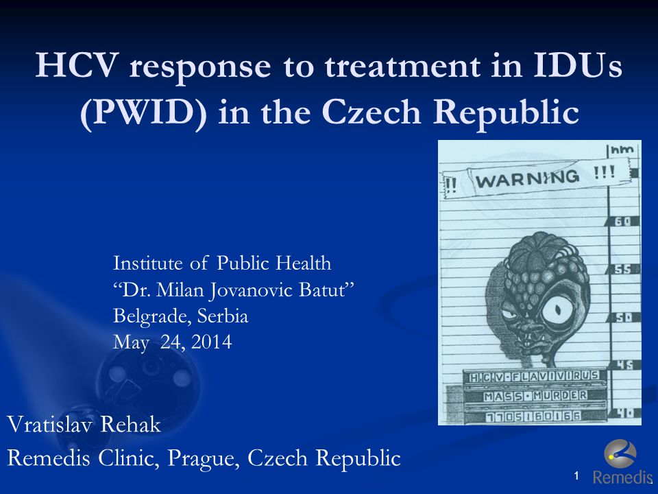 HCV response to treatment in IDUs (PWID) in the Czech Republic