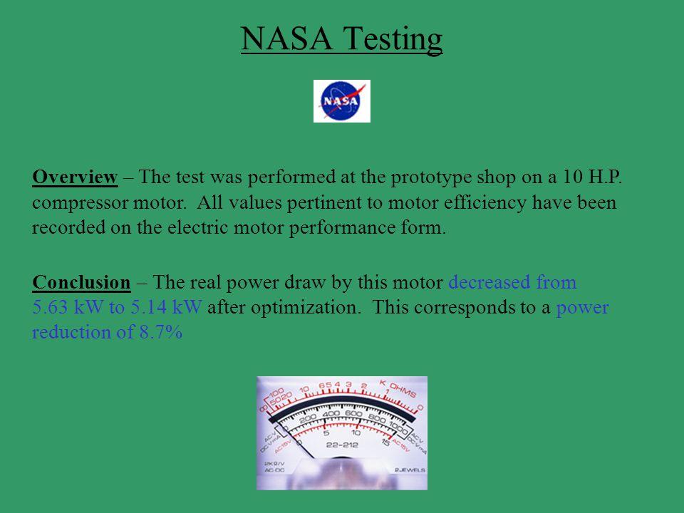 NASA Testing