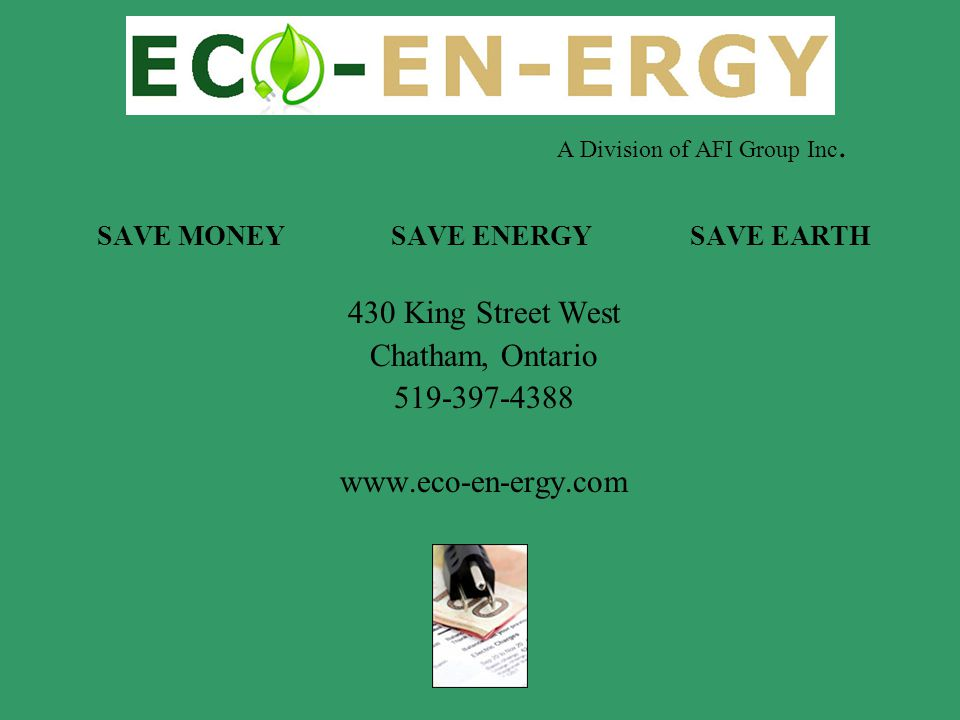 SAVE MONEY SAVE ENERGY SAVE EARTH