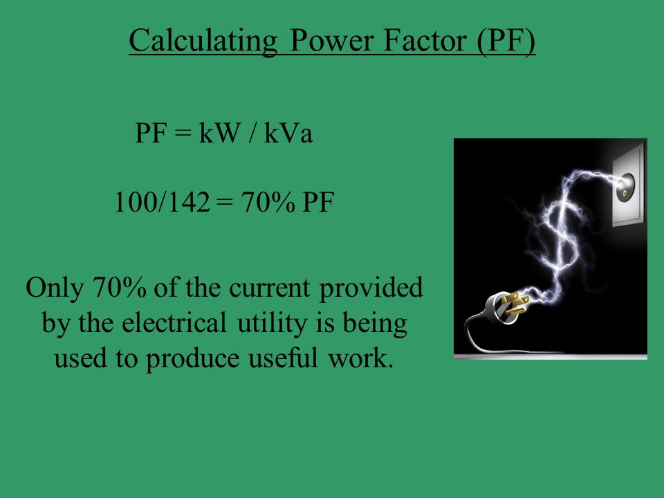 Calculating Power Factor (PF)