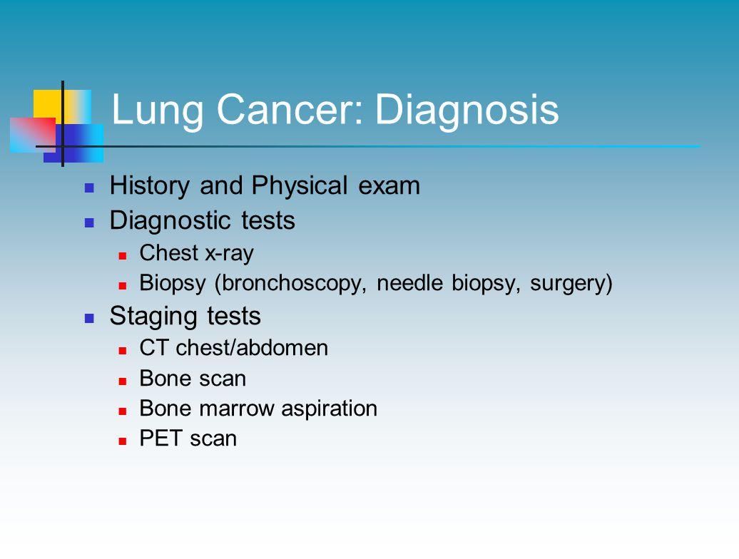Lung Cancer: Diagnosis