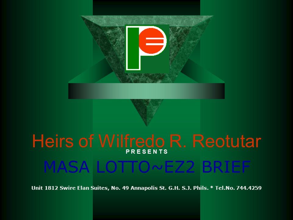 Heirs of Wilfredo R. Reotutar