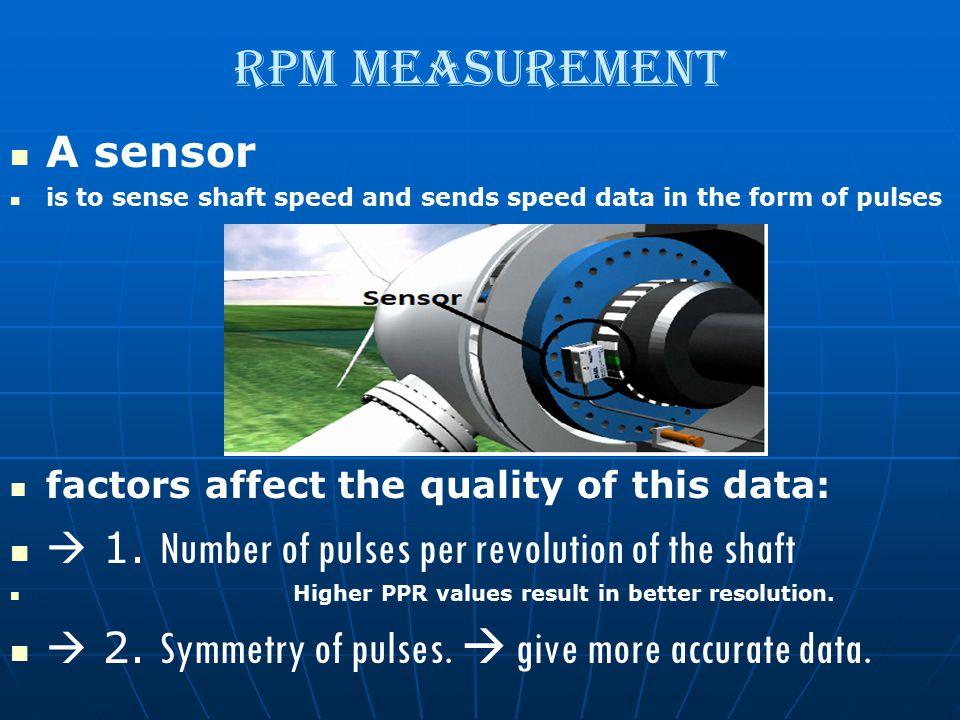 RPM Measurement A sensor