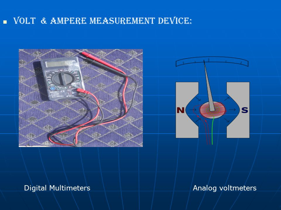 Volt & Ampere measurement device: