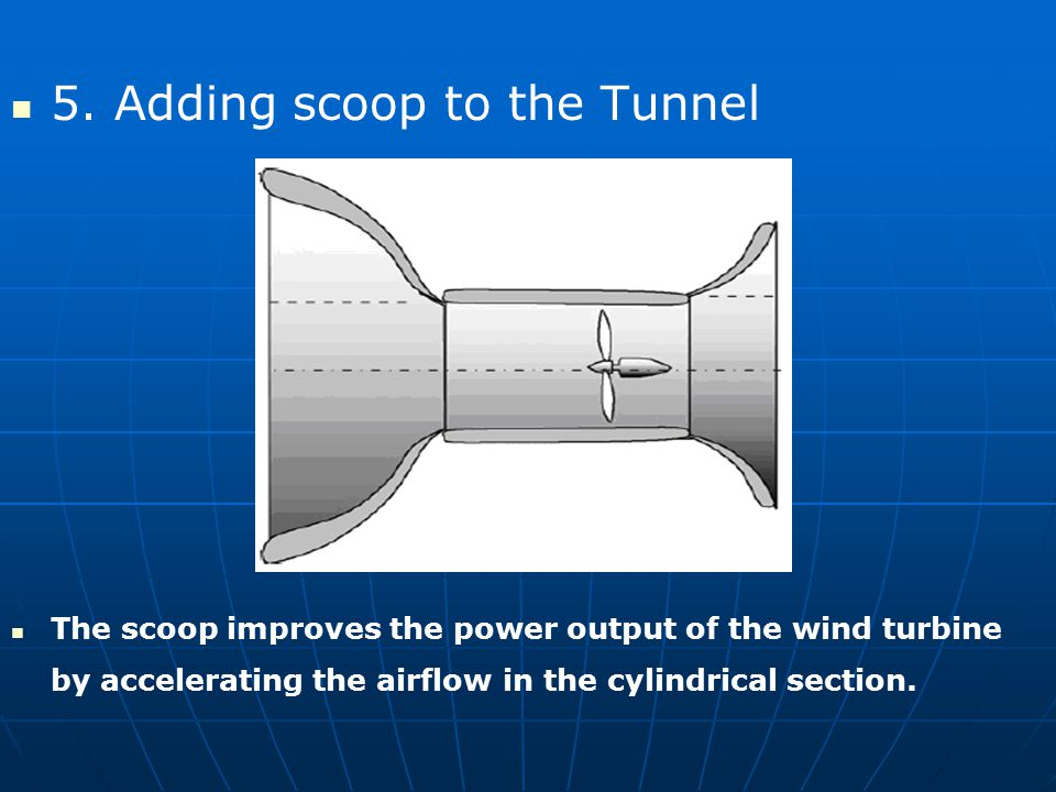 5. Adding scoop to the Tunnel