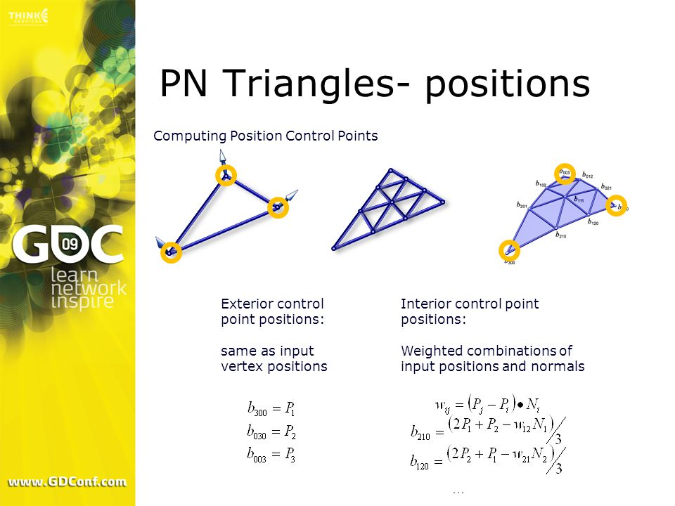 PN Triangles- positions
