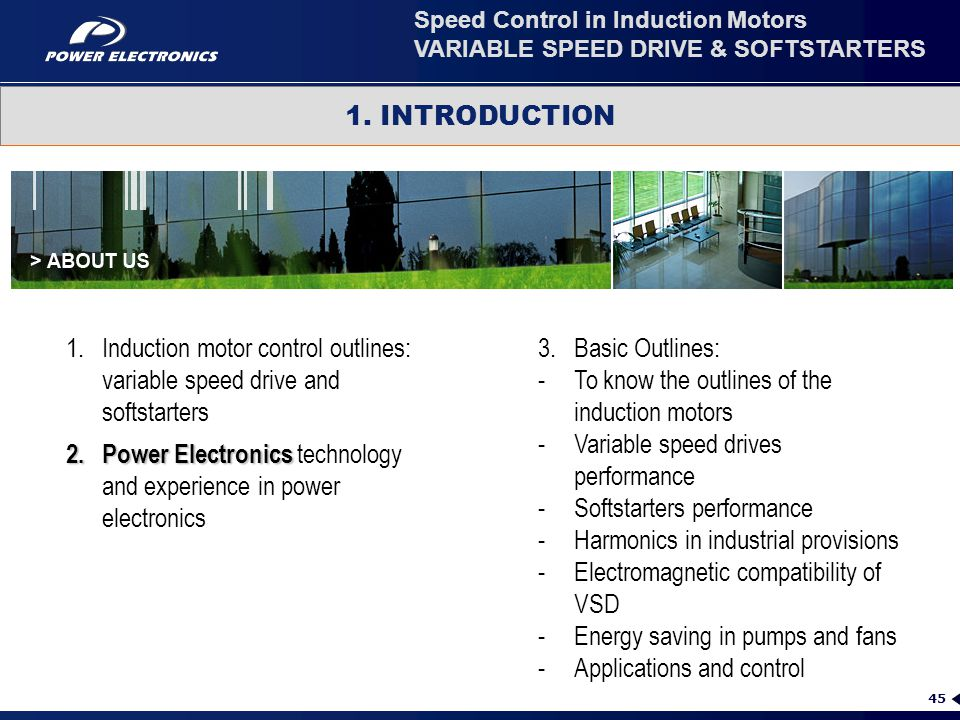 Power Electronics technology and experience in power electronics