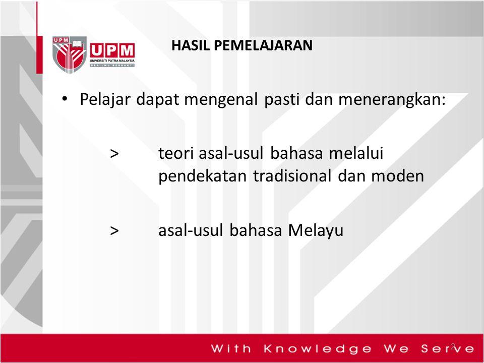 Pelajar dapat mengenal pasti dan menerangkan: