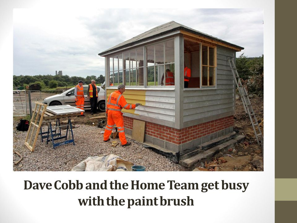Dave Cobb and the Home Team get busy with the paint brush