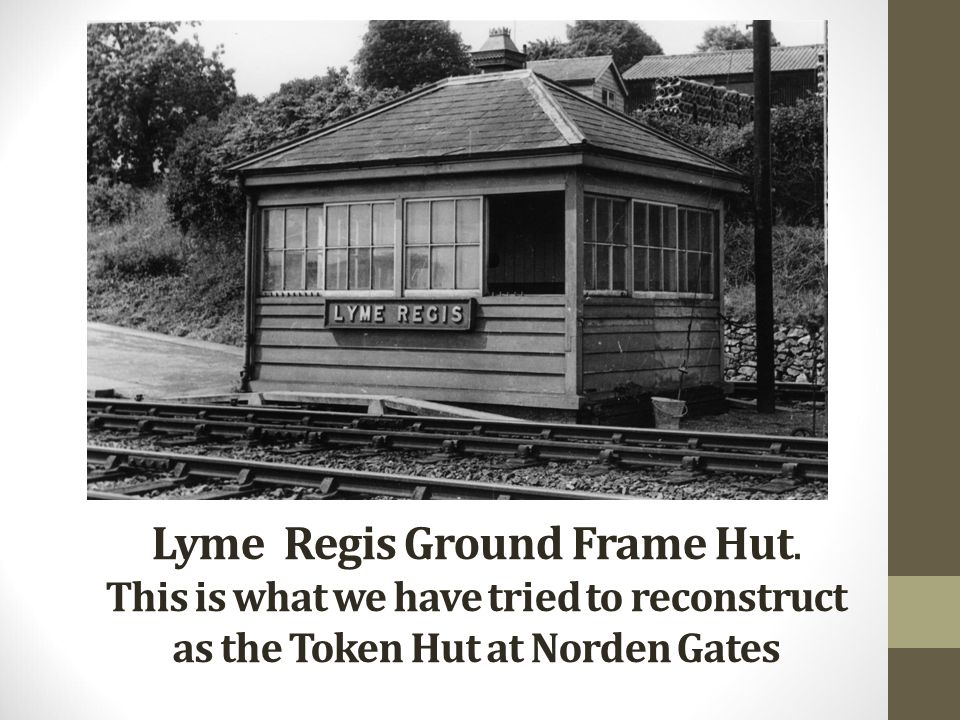 Lyme Regis Ground Frame Hut