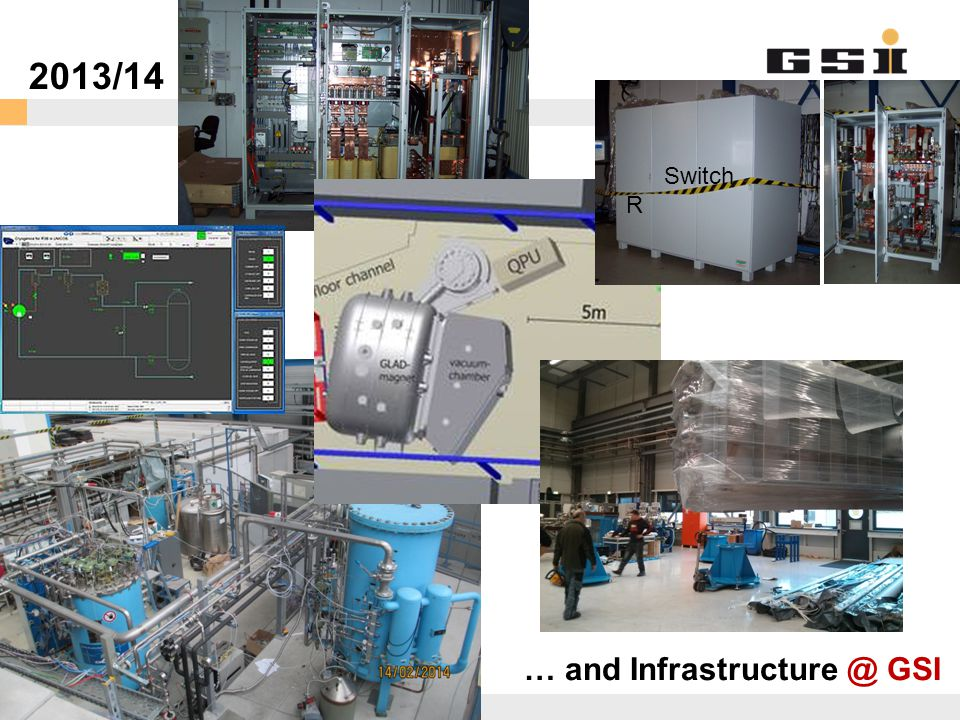2013/14 Switch R R … and Infrastructure @ GSI