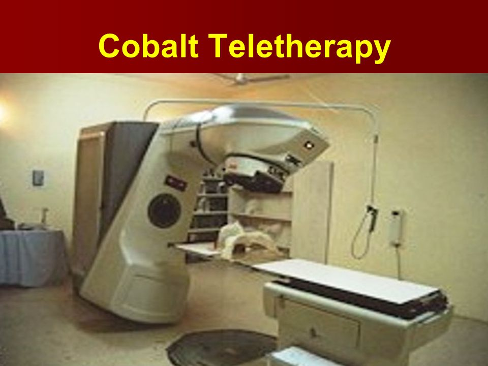 Cobalt Teletherapy
