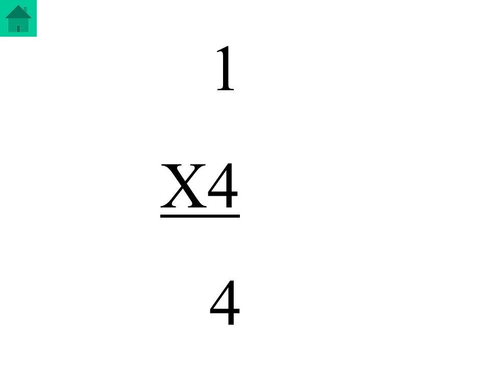 1 X4 4
