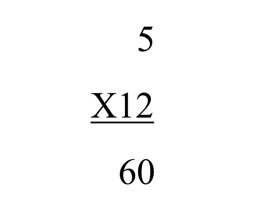 5 X12 60