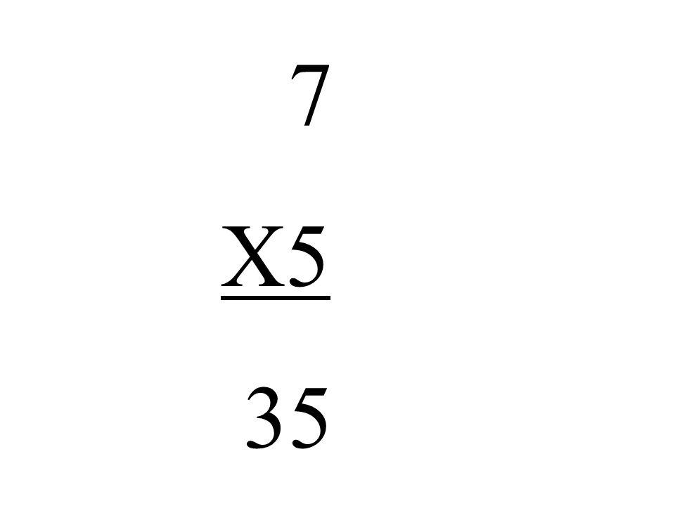 7 X5 35