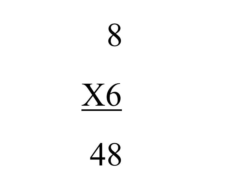 8 X6 48