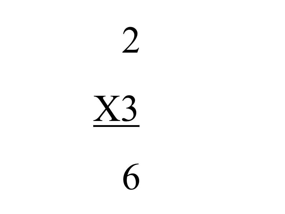 2 X3 6