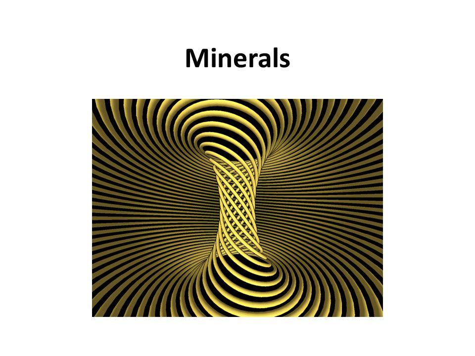 Minerals Minerals