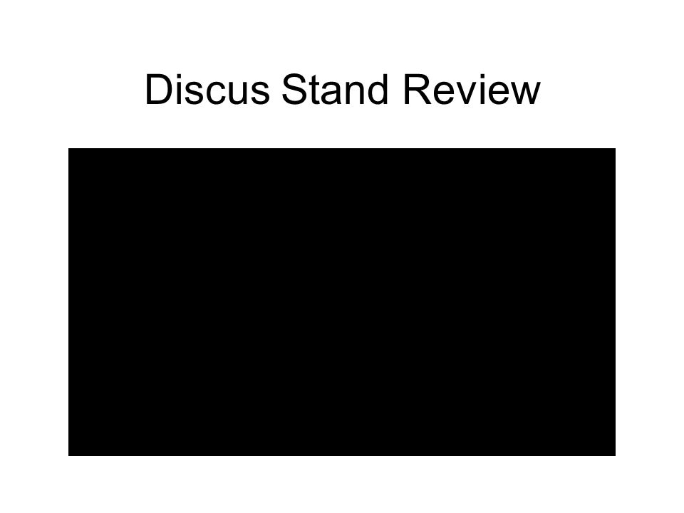 Discus Stand Review