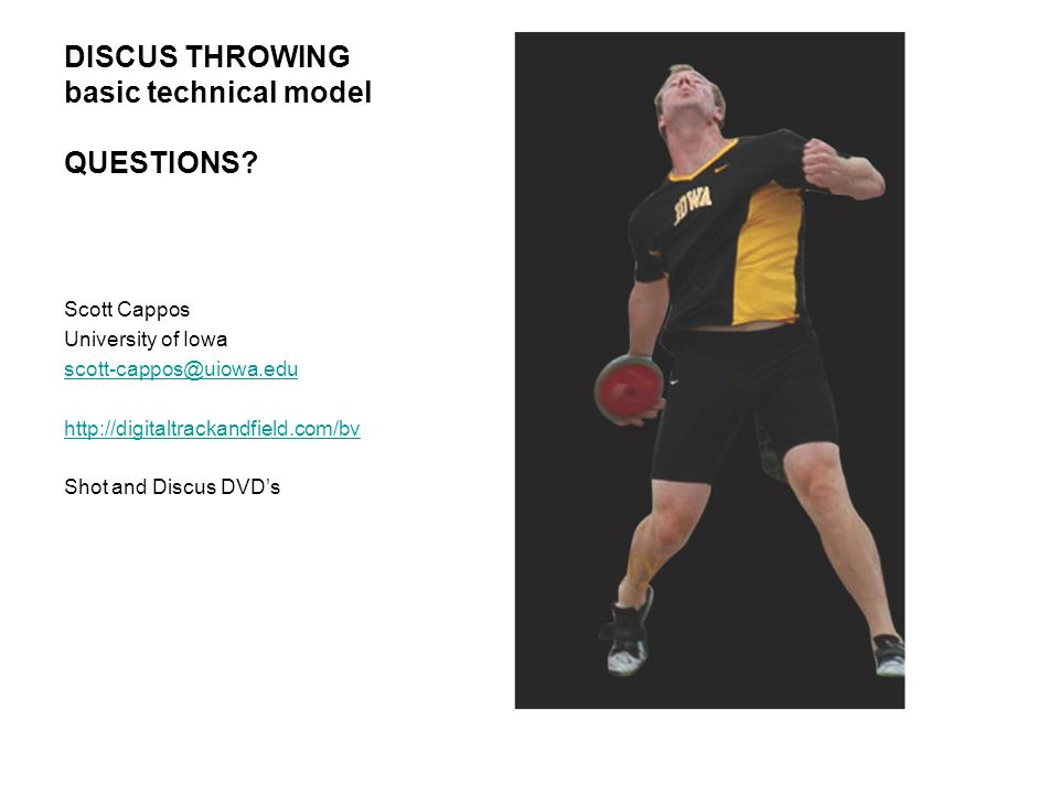 DISCUS THROWING basic technical model QUESTIONS