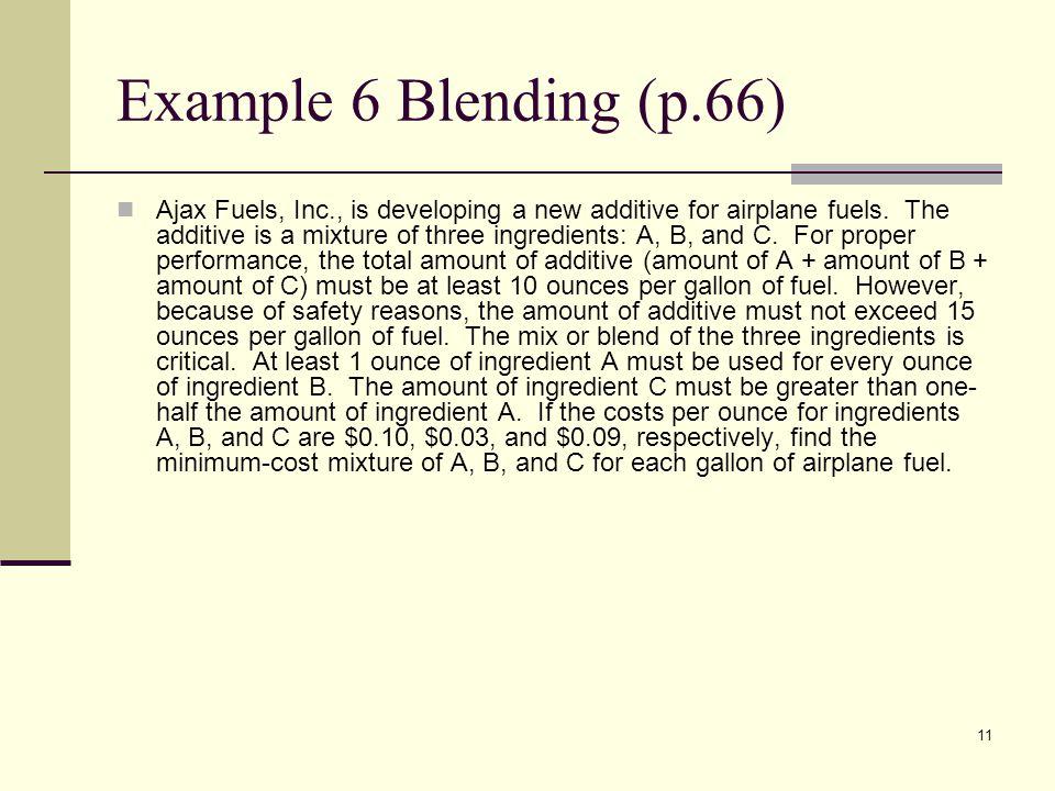 Example 6 Blending (p.66)