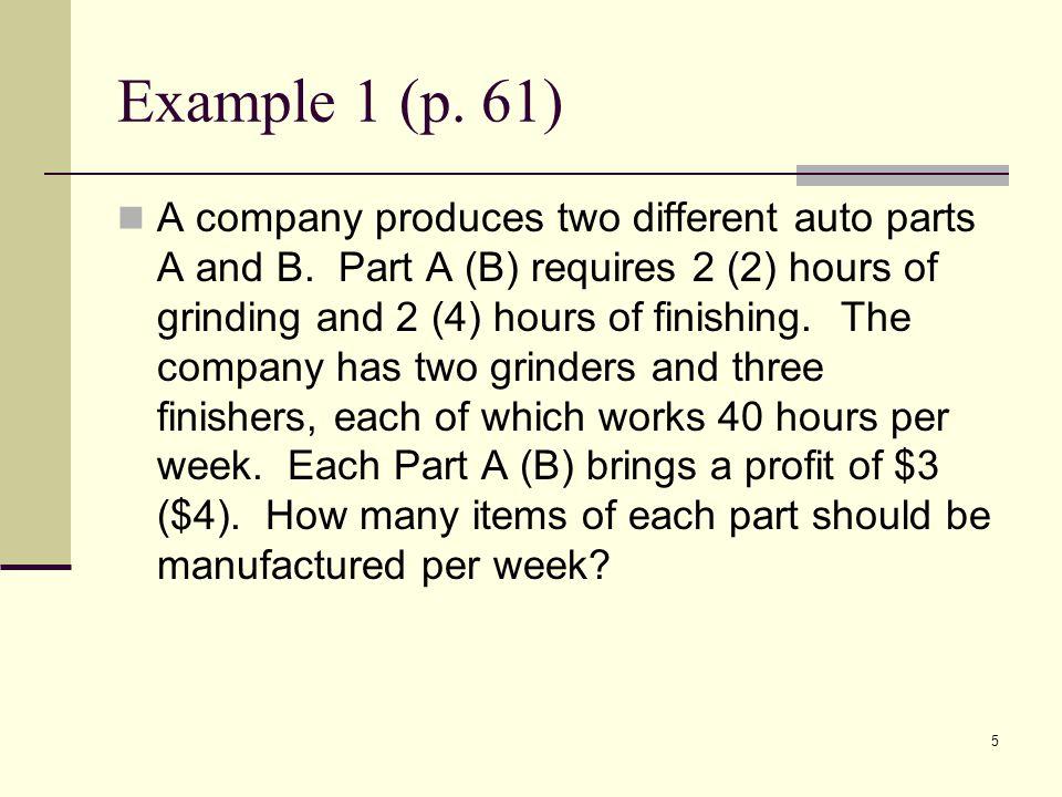 Example 1 (p. 61)