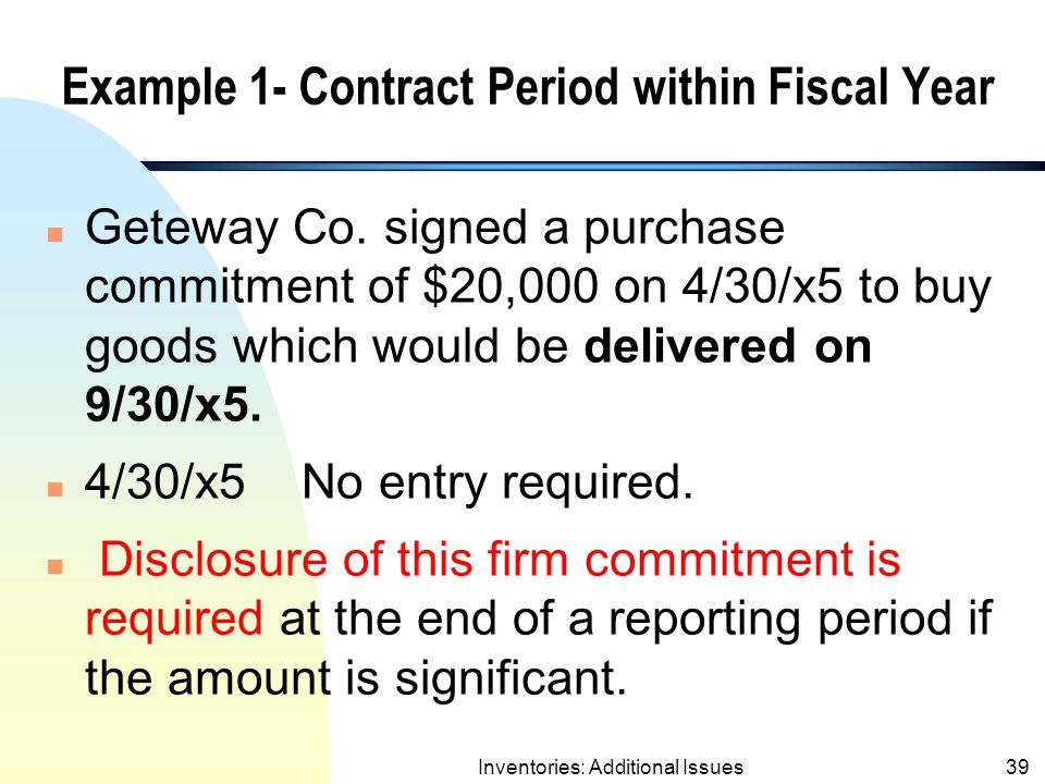Example 1- Contract Period within Fiscal Year