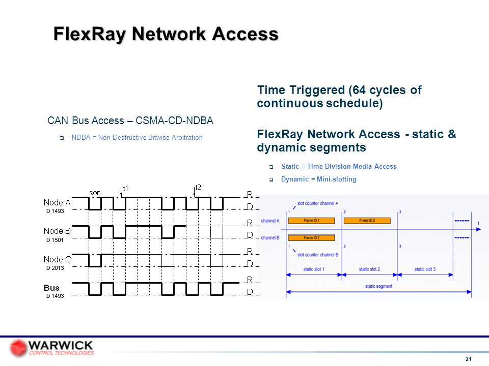 FlexRay Network Access