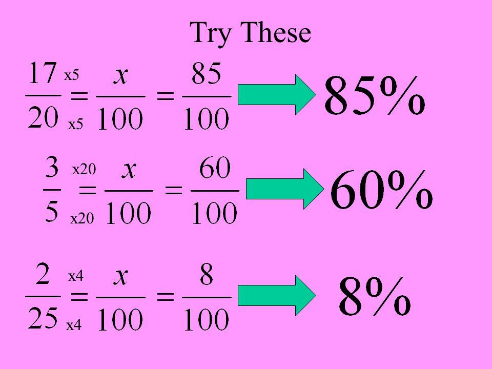 Try These x5 x5 x20 x20 x4 x4